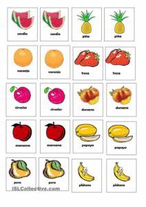 Memorama de Frutas1