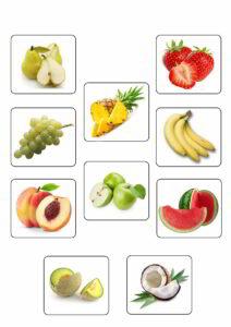 Memorama de Frutas3