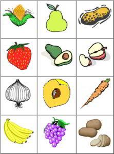 Memorama de Frutas5