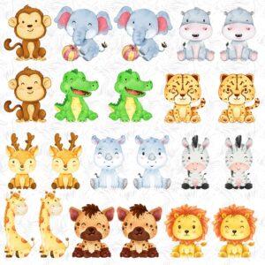 Memorama pra Imprimir Animales6